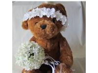 Detalles de comunión con flor artificial